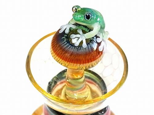 アロマポット Frog on a Mshuroom 【 kengtaro / ケンタロー 】