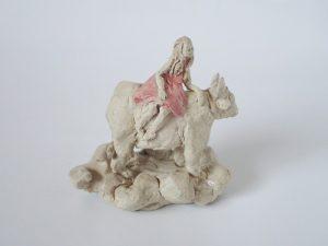 星座 -牡牛座- 【にしだ みき 】陶人形