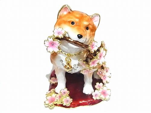 桜犬 ジュエリーボックス 【 Piearth / ピィアース 】