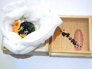 ヒョウモンくん【 kengtaro / ケンタロー 】ボロシリケイトガラス ペンダントトップ