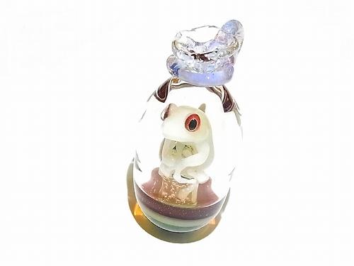 Gift(ギフト) 弐 【kengtaro/ケンタロー】袋に入ったカエル ボロシリケイトガラス