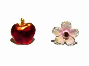 花りんご ピアス【Palnart Poc/パルナートポック】