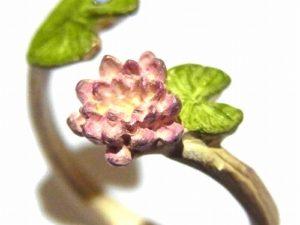 蓮苑 リング【Palnart Poc/パルナートポック】ハスの花 アクセサリー