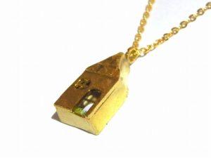 もりのおうちでピクニック ネックレス【thuthu appetizing accessories/nupi】 ハンドメイド 真鍮 アクセサリー