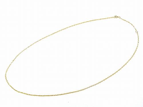 ゴールドプレート プリンスオブウェールズ チェーン ( 60cm )【 Nick Hubbard ニック・ハバード 】