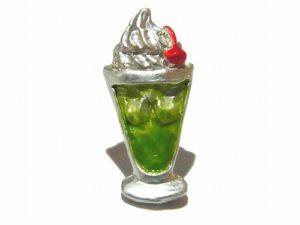 夏のカフェ ピアス【Palnart Poc/パルナートポック】かき氷 クリームソーダ