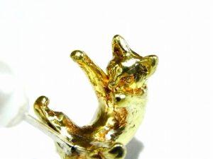 玉遊び ピアス【 ホアシ ユウスケ Yusuke Hoashi 】 真鍮 アクセサリー