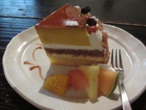 ハナアカリ かぼちゃプリンケーキ