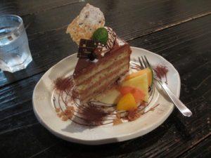 ハナアカリ チョコレートケーキ