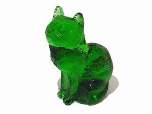 Sitting Cats おすわり猫 【 Mosser Glass / モッサー ガラス 】 ビンテージ ガラス