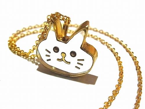 ねこちゃん ネックレス チェーン:60cm【thuthu appetizing accessories/nupi】