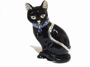 猫 ジュエリーボックス